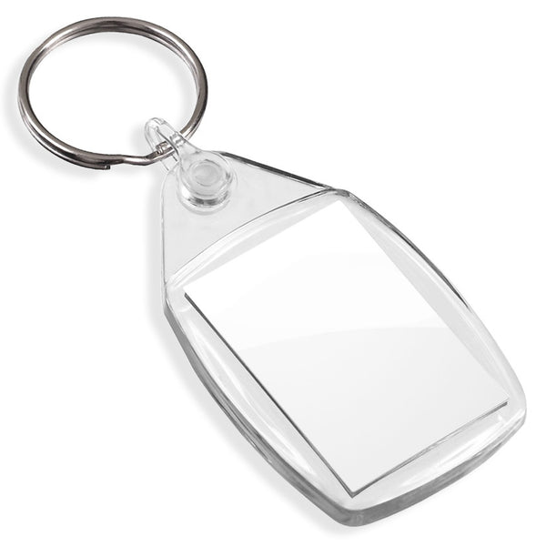 Blank Small Keyrings | 35mm x 24mm