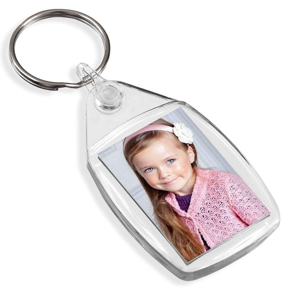 Personalised Small Keyring | 35mm x 24mm