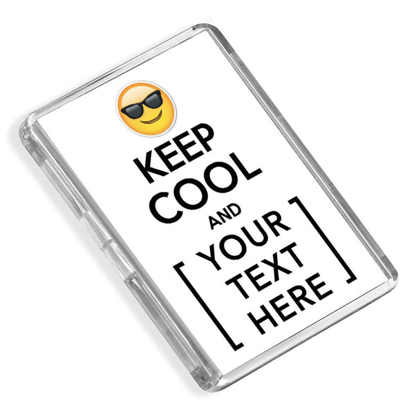 Personalised Fridge Magnet | Keep Cool