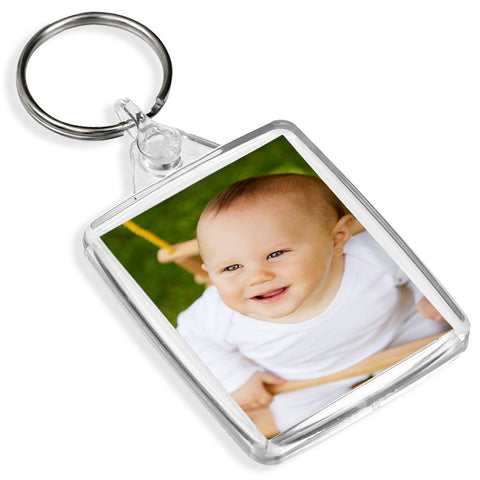 Personalised Passport Keyring | 45mm x 35mm