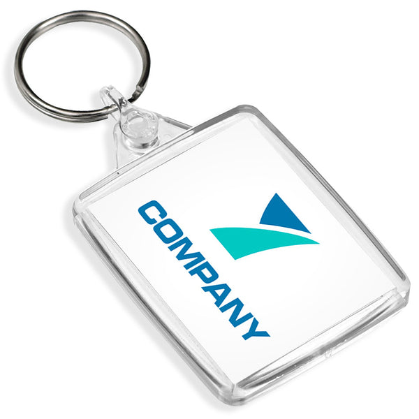 Pixly business merchandise pixly custom passport keyrings 45mm x 35mm reheart Images