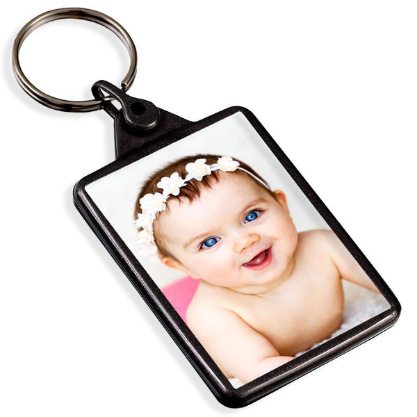 Personalised Recycled Keyring | 50mm x 35mm