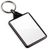 Blank Recycled Plastic Keyrings | 50mm x 35mm