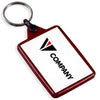 Custom Recycled Plastic Keyrings | 50mm x 35mm