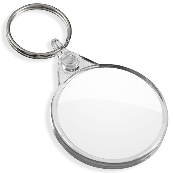 Blank Round Keyrings | 38mm x 38mm