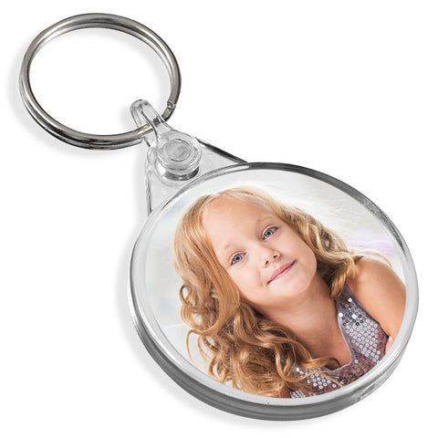Personalised Round Keyring | 38mm x 38mm
