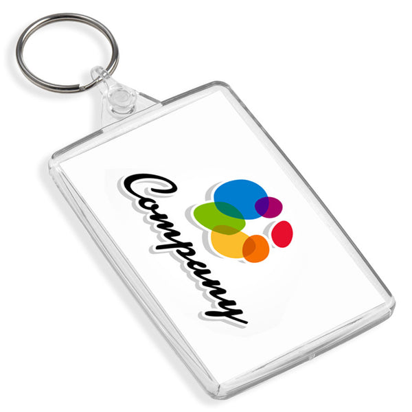 Custom Large Keyrings | 70mm x 45mm