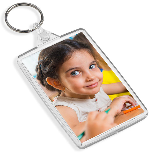 Personalised Large Keyring | 70mm x 45mm