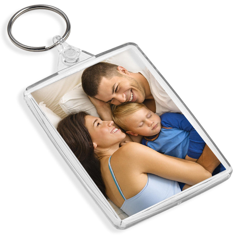 Personalised Jumbo Keyring | 73mm x 51mm