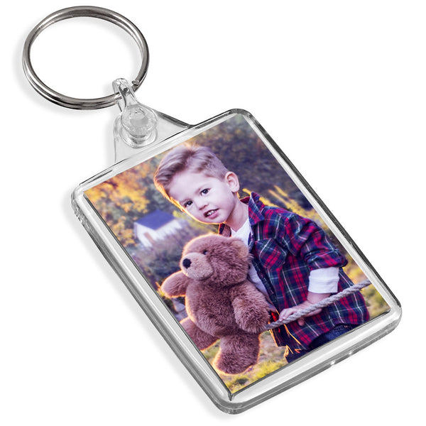 Personalised Medium Keyring | 50mm x 35mm