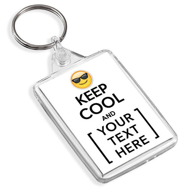 Personalised Keyring | Keep Cool