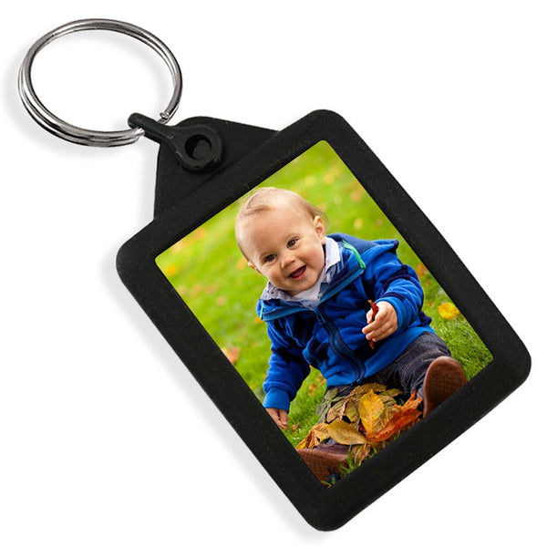 Personalised Gel Keyring | 45mm x 35mm