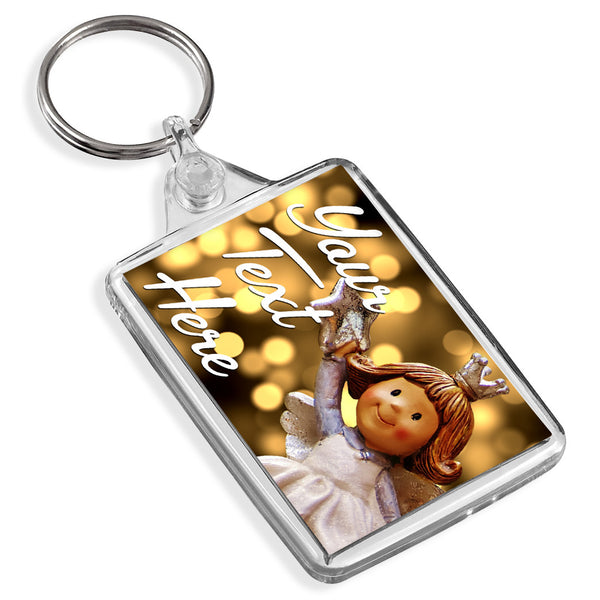 Personalised Keyring | Angel