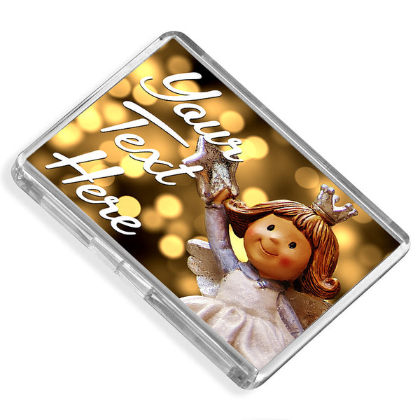 Personalised Fridge Magnet | Angel