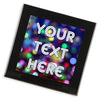 Personalised Glass Coaster | Party Lights