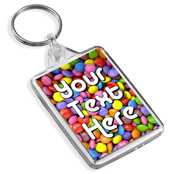 Personalised Keyring | Smarties