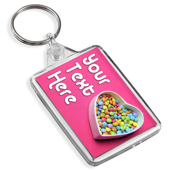 Personalised Keyring | Heart