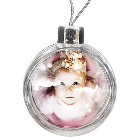 Personalised Large Bauble | 80mm x 80mm