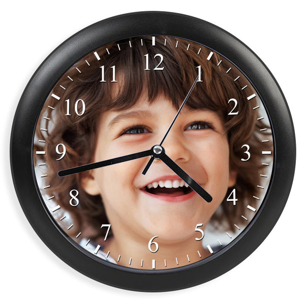 Personalised Photo Wall Clock | 25cm