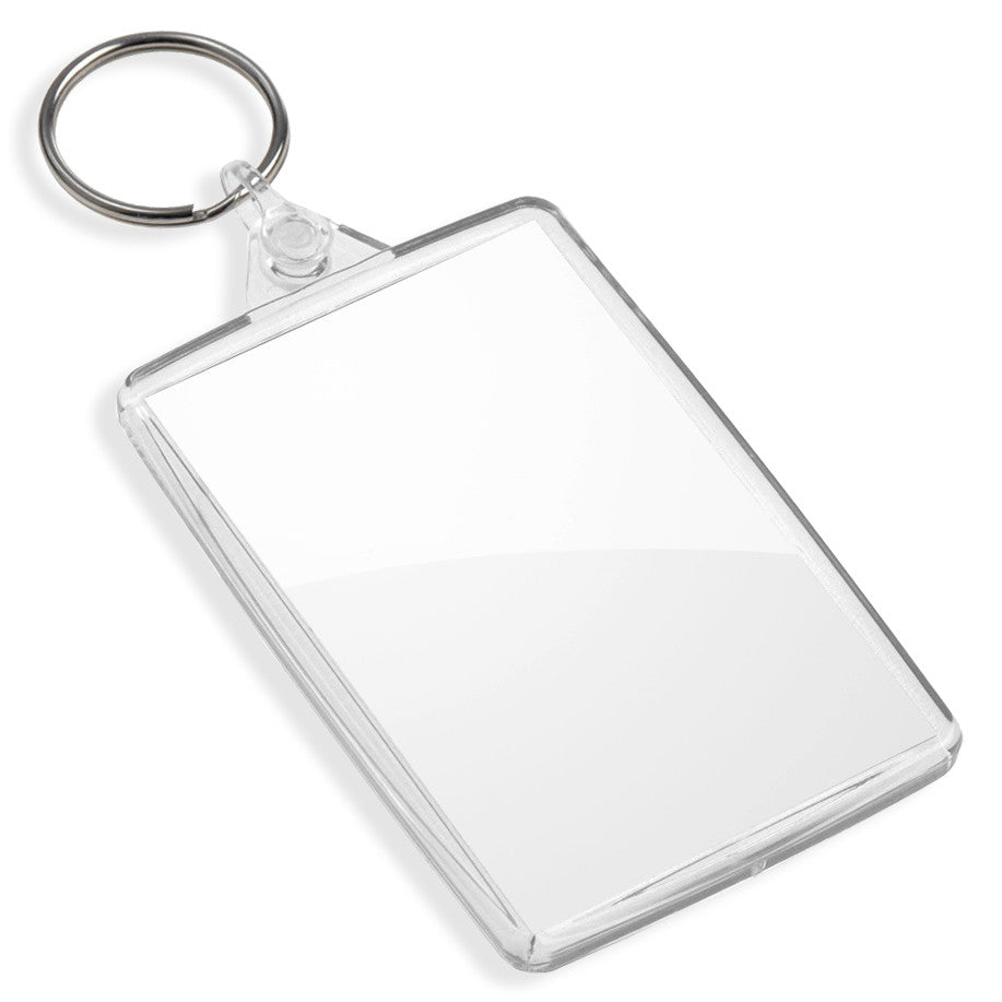 Blank Large Keyrings | 70mm x 45mm