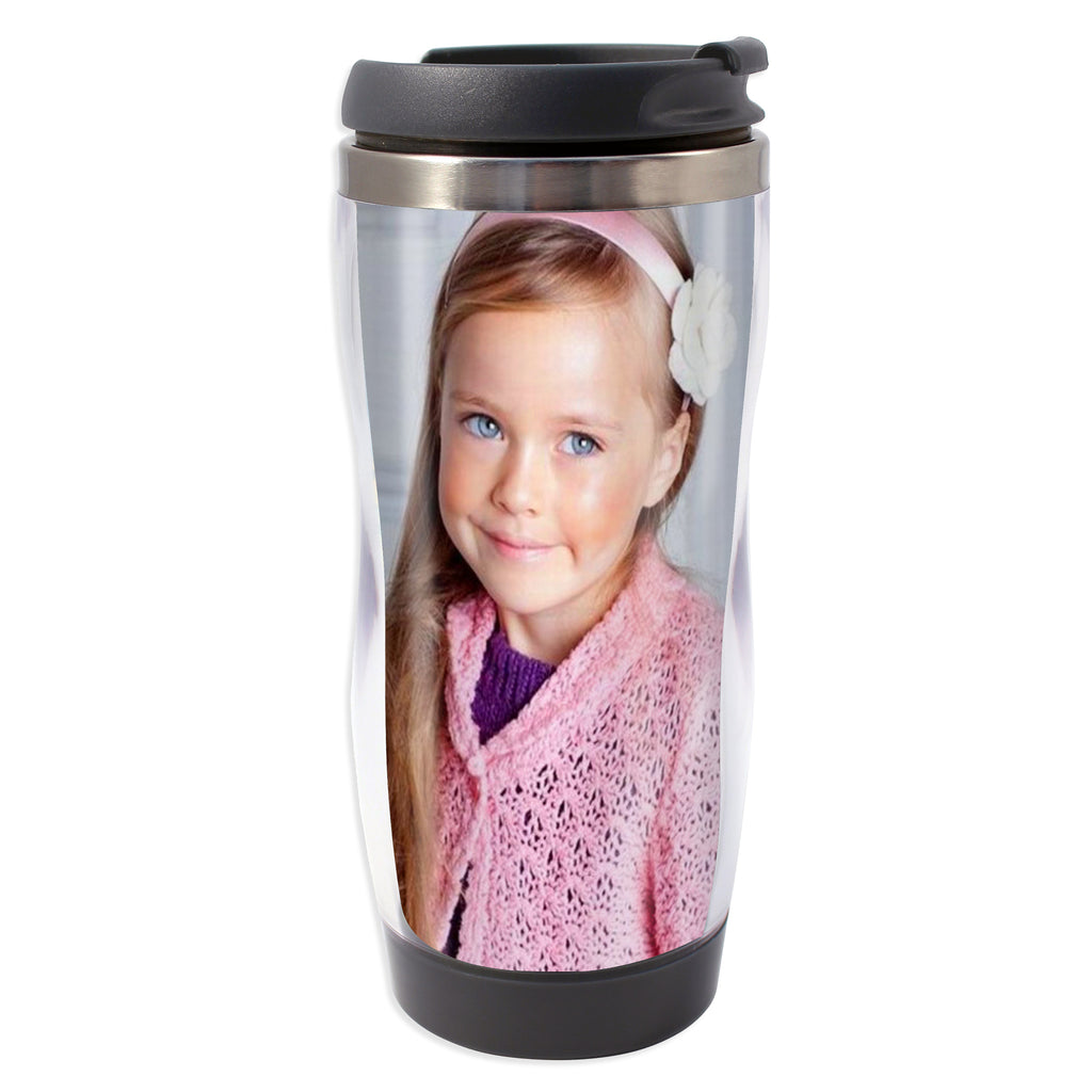 Personalised Photo Travel Mug | Flow