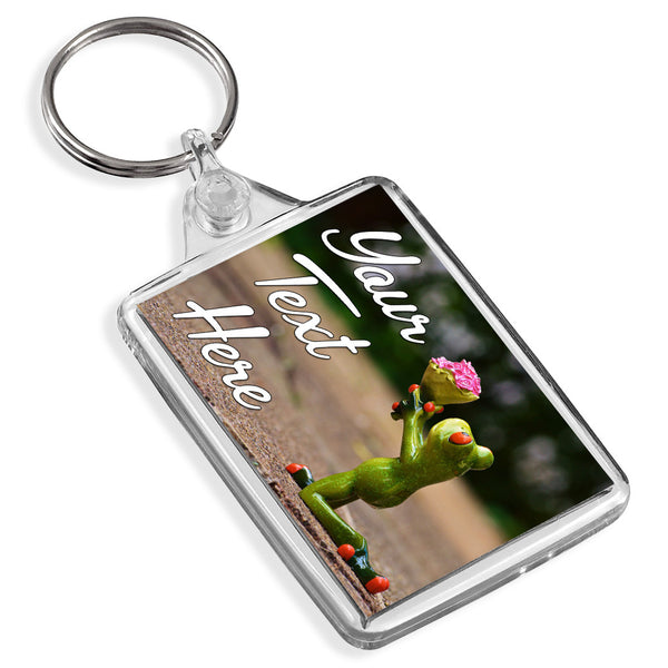 Personalised Keyring | Frog