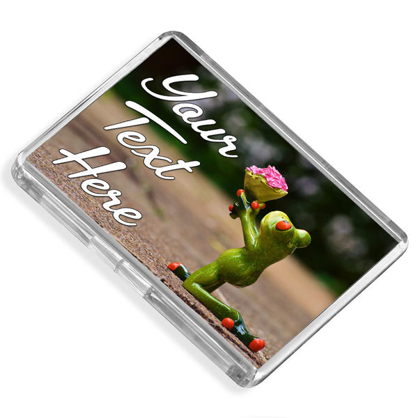Personalised Fridge Magnet | Frog