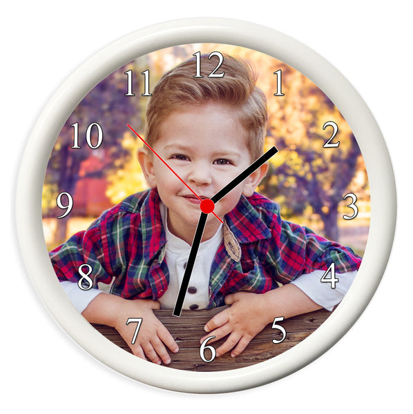 Personalised Photo Wall Clock | 19cm