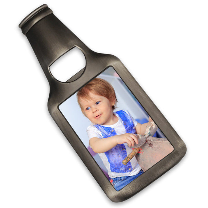 Personalised Bottle Opener Magnet | 76mm x 51mm