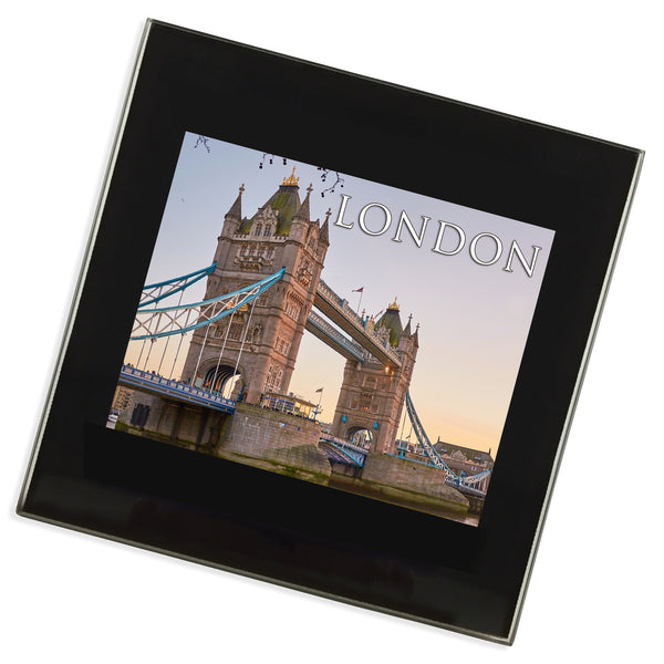 Tower Bridge London Glass Coaster | UK