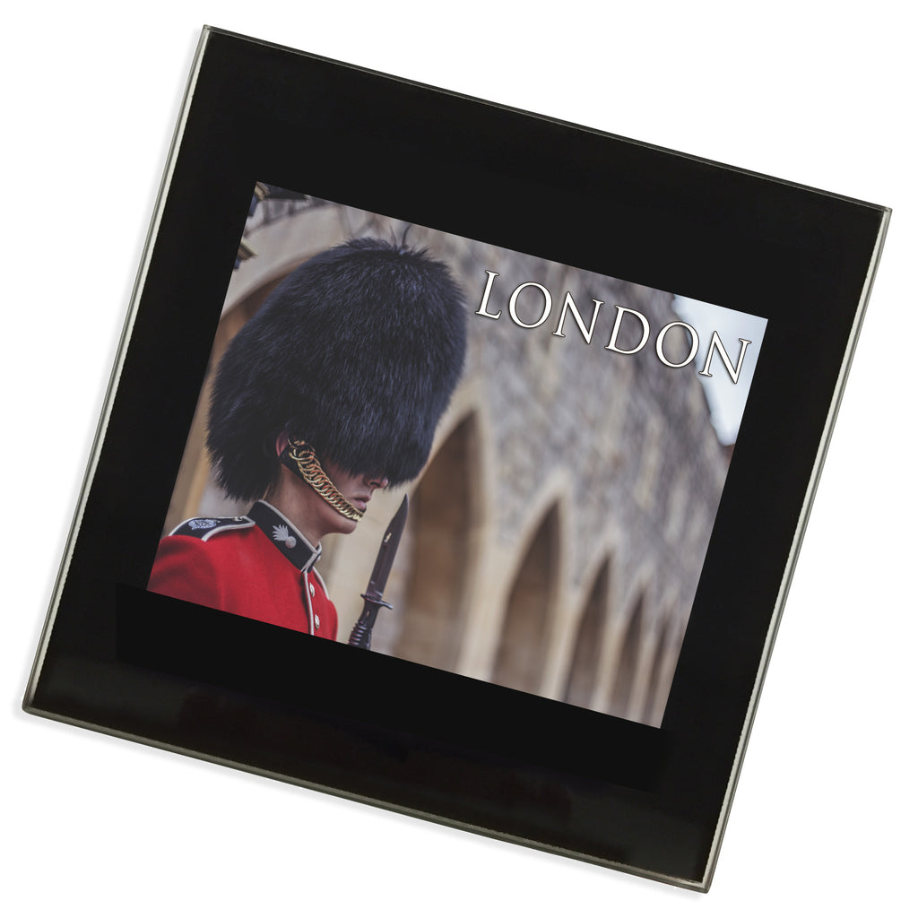 Royal Guard London Glass Coaster | UK