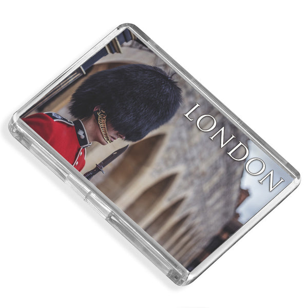 London Royal Guard Fridge Magnet | UK