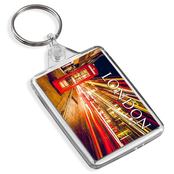London Phone Box Keyring | UK