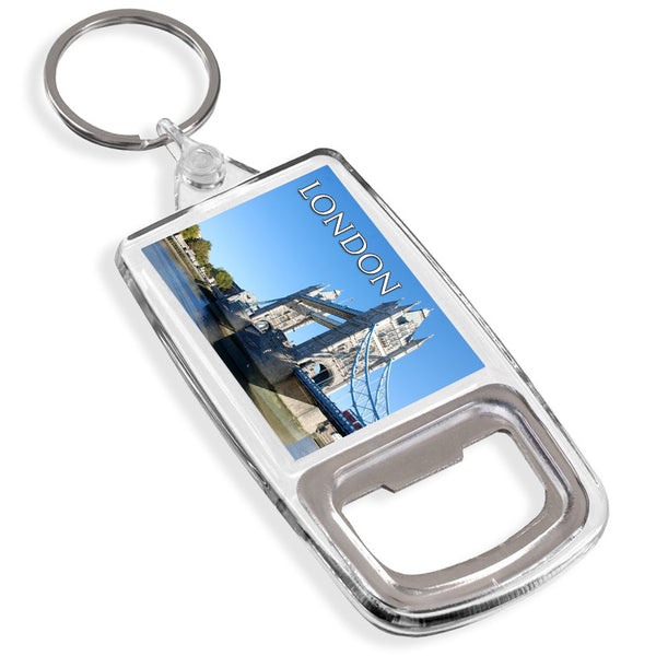 Tower Bridge London Bottle Opener Keyring | UK