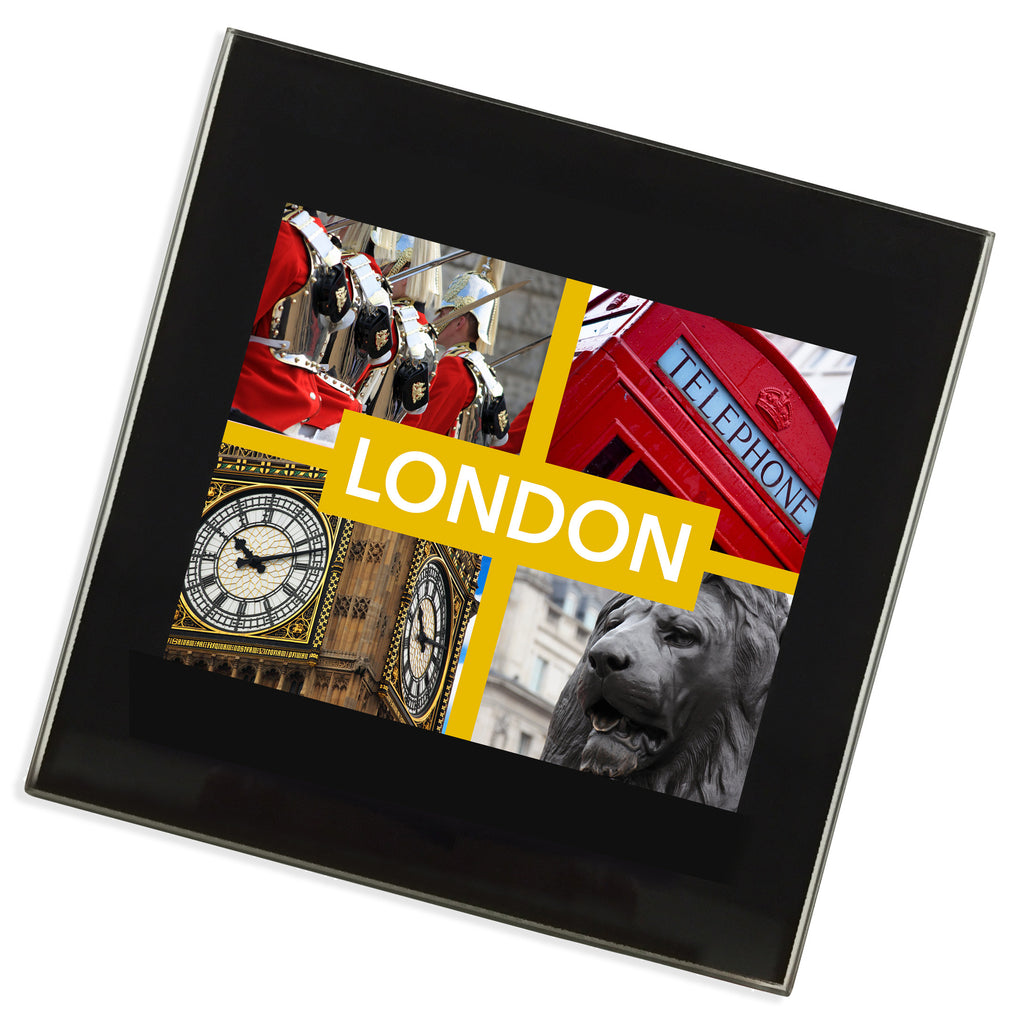 London Glass Coaster | UK