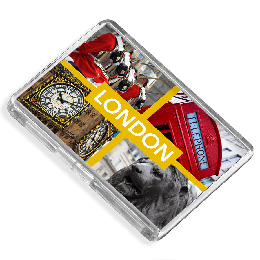 London Fridge Magnet | UK