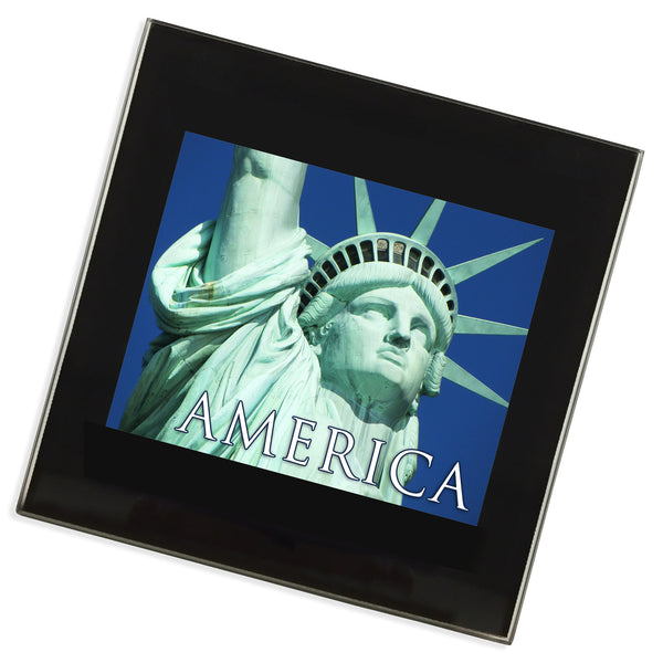 New York Glass Coaster | America