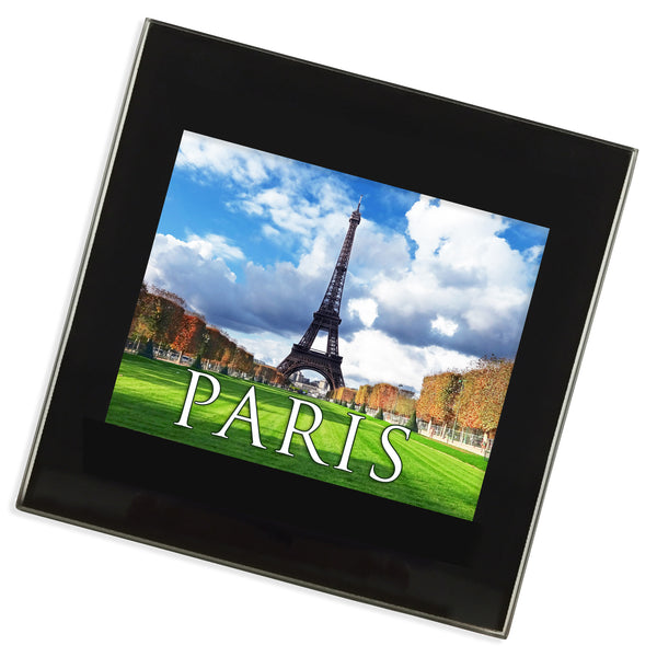 Paris Eiffel Tower Glass Coaster | France
