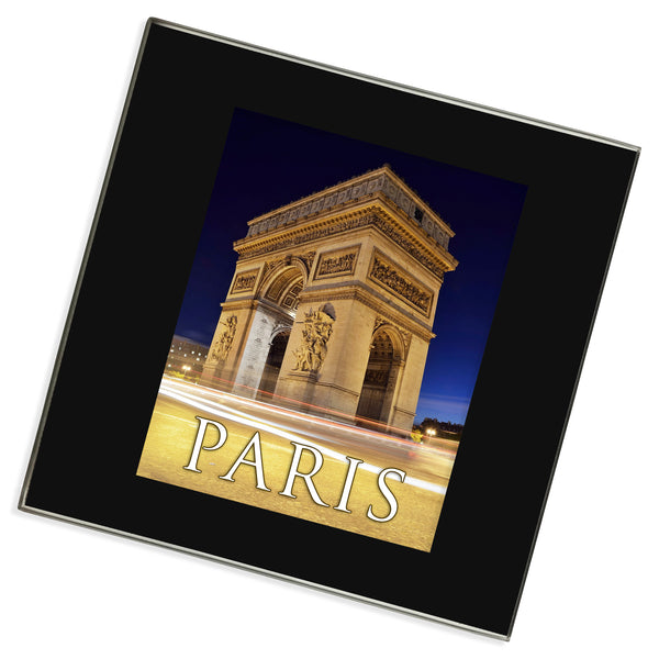 Paris Champs Elysees Glass Coaster | France