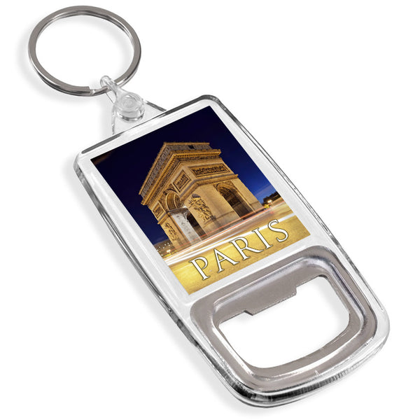 Paris Champs Elysees Bottle Opener Keyring | France