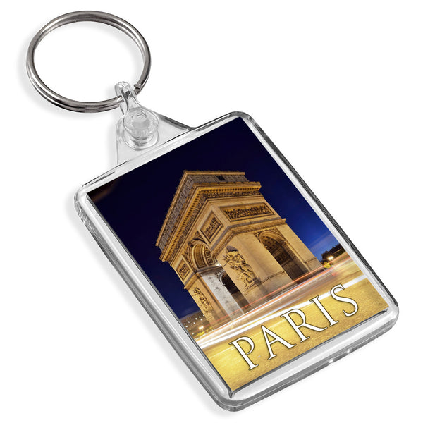 Paris Champs Elysees Keyring | France