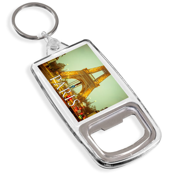 Eiffel Tower Paris Bottle Opener Keyring | France