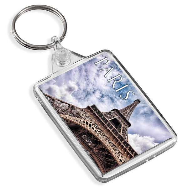 Paris Eiffel Tower Keyring | France
