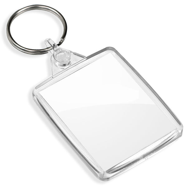 Blank Passport Keyrings | 45mm x 35mm