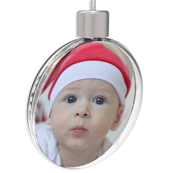 Personalised Round Bauble | 70mm x 70mm