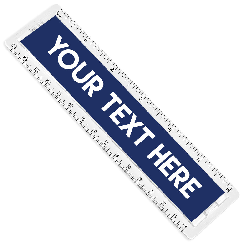 Personalised Text Ruler | 15cm