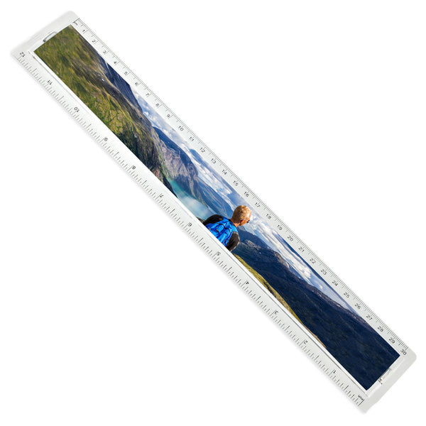 Personalised Photo Ruler | 30cm