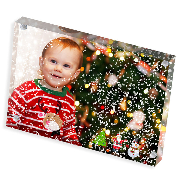 "Personalised Photo Block | Christmas | 6"" x 4"""