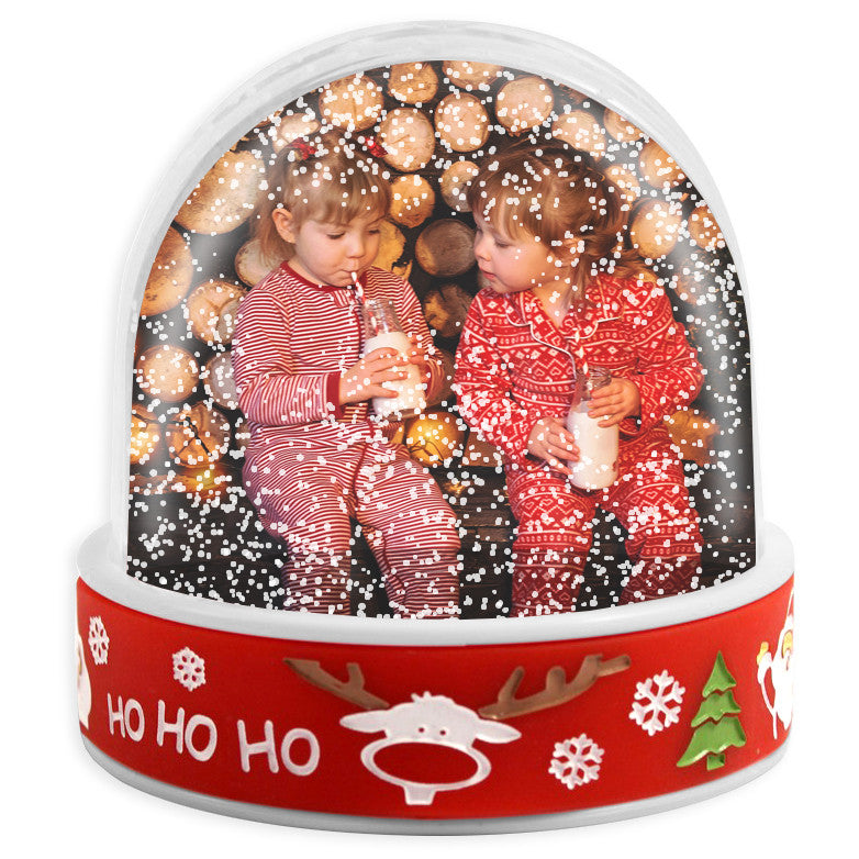 Personalised Photo Snow Dome | Christmas