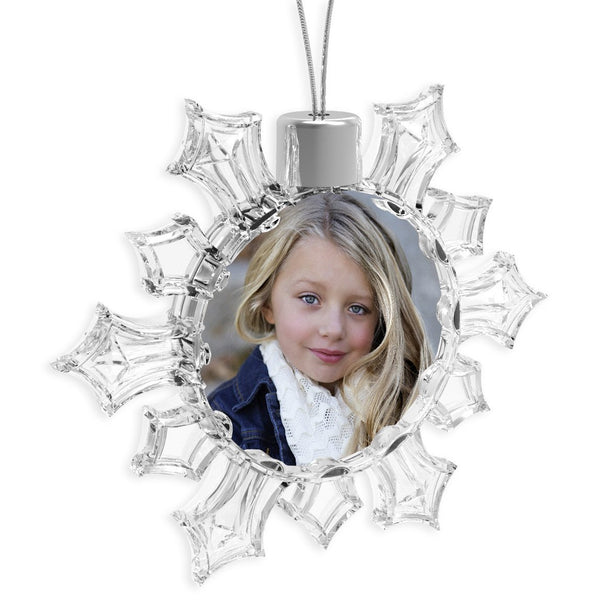 Personalised Snowflake Bauble | 53mm x 53mm
